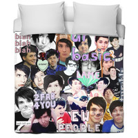 Dan And Phil Bed Cover