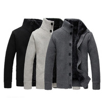 Mens Comfortable Thick Winter Sweater