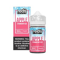 Reds E-Juice - Apple Strawberry Iced (60mL)