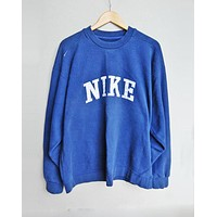 NIKE Fashion Casual Long Sleeve Sport Top Sweater Pullover Sweatshirt