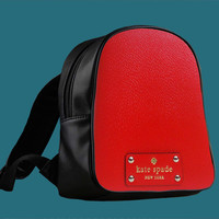 kate spade red for Backpack / Custom Bag / School Bag / Children Bag / Custom School Bag ***
