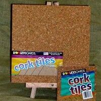 Cork Tiles Square Bulletin Boards for dorm decorating posting pics pictures wall decor is college decor cheap dorm decorations