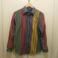 Ralph Lauren Multicolored Polo Blouse