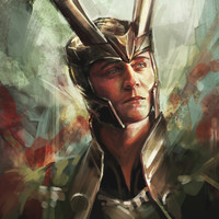 The Prince of Asgard Art Print by Alice X. Zhang