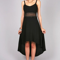 Midnight Embroidery Dress