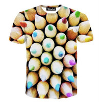 Colored Pencils Tee