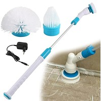 Electric Spin Scrubber Turbo Scrub Cleaning Brush Cordless Chargeable