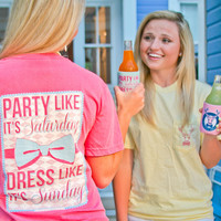 Party Like It's Saturday, Dress Like It's Sunday - SS Pocket