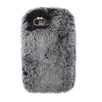 Gray Fur iPhone Case