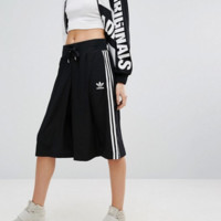 adidas Originals Black Three Stripe Culottes