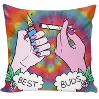 Best buds couch pillow