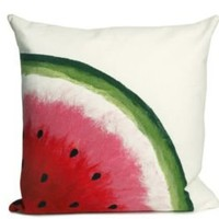 One Kings Lane - Liora Manné - S/2 Watermelon Red Pillows
