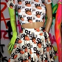 SWEET LORD O'MIGHTY! 1990 BRITNEY SK8R SKIRT