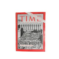 "Vintage Time Magazine ""Protest, Protest, Protest! A Week of Antiwar Demonstrations,"" October 27, 1967 -  Vol. 90 No. 17"