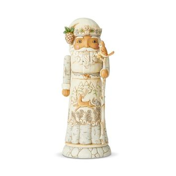 Jim Shore Heartwood Creek White Woodland Nutcracker – 6004171