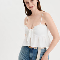 AE Tie Front Tube Top
