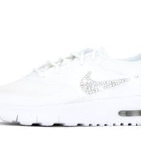 Girl's Nike Air Max Thea - Crystallized Swarovski Swoosh - Little Kids' (10.5c-3y)