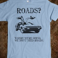 Back to the Future: We don't need roads