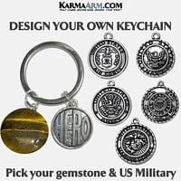 Keychain   DESIGN YOUR OWN   HERO   United States Military