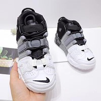 """Nike Air More Uptempo """"Tri-Color"""" Toddler Kid Shoes Child Sneakers - Best Deal Online"""
