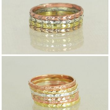 Arrow Stacking Rings - G2