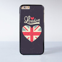 Love London Plastic Case Cover for Apple iPhone 6 6 Plus 4 4s 5 5s 5c