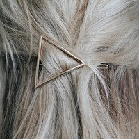 Love Triangle Barrette