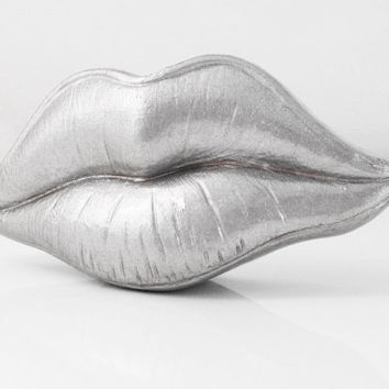Lips Wedding Favor Lips Sculpture Bedroom Decor by hodihomedecor