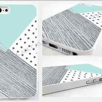 case,cover fits iPhone,iPod models>,mint,retro,Polka Dot,pic of wood,geometric