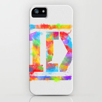 1D Watercolor iPhone Case by dan ron eli | Society6