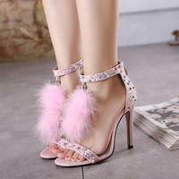 Summer Stylish Design High Heel Sandals = 4814696196