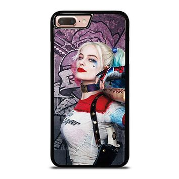 HARLEY QUINN MARGOT ROBBIE iPhone 8 Plus Case Cover
