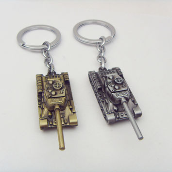 Wot Game World of Tanks Key Chain
