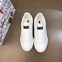 D&G  Men Fashion Boots fashionable Casual leather Breathable Sneakers Running Shoes01