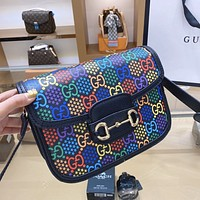 GUCCI x DISNEY joint large capacity women's shoulder bag crossbody bag