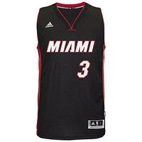 Dwyane Wade Miami Heat Adidas NBA Swingman Jersey - Black
