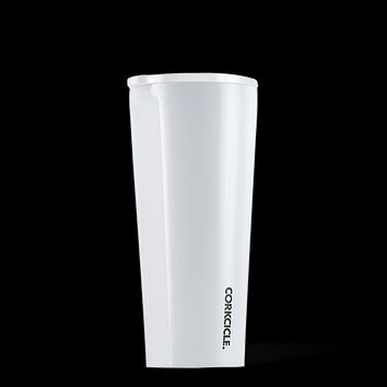 Dipped Modernist White Corkcicle Everyday 16 oz Tumbler