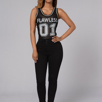 Got Game Bodysuit - Black