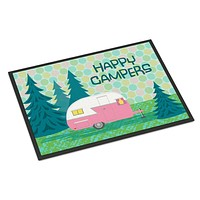 Happy Campers Glamping Trailer Indoor or Outdoor Mat 24x36 VHA3004JMAT
