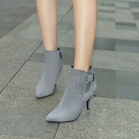 Ankle Boots High Heels Women Spike Shoes Fall|Winter 2764