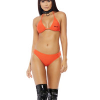 Cuffing Season 2pc. Inmate Costume Set