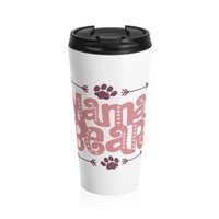 Mom Stainless Steel Travel Mug - Mama Bear