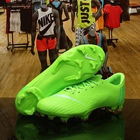 Nike Mercurial Vapor XII 12 360 Elite FG Multi Ground Soccer Cleat Olive Shoes