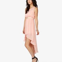 High-Low Georgette Dress | FOREVER 21 - 2037267065