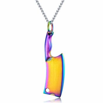Gift Jewelry New Arrival Stylish Shiny Stainless Steel Accessory Innovative Men Classics Pendant Necklace [10783255299]