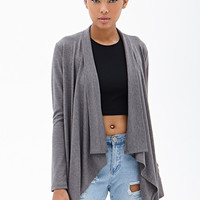 FOREVER 21 Draped Knit Cardigan