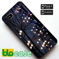 Winter Lights Iphone 6 Plus Plastic Case