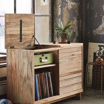Wooden Media Console