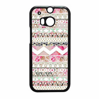 Girly Floral Tribal Andes Aztec HTC One M8 Case