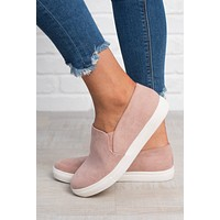Steven Slip On Sneakers (Dusty Pink)